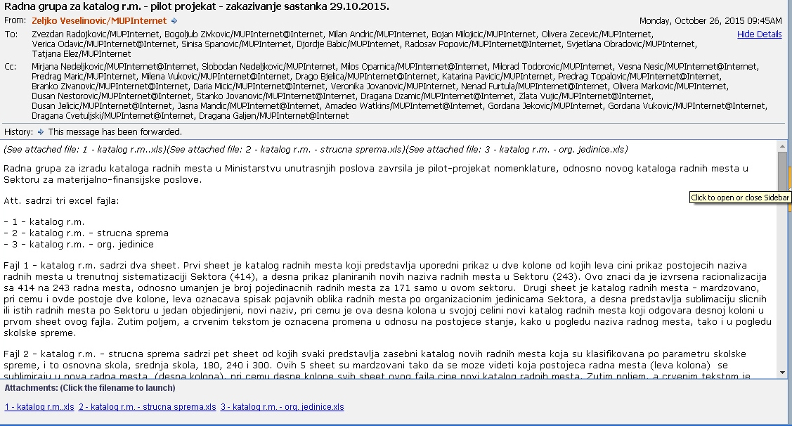mail za sajt